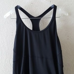 Athleta XL Black athletic tank EUC